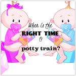 Potty Training – is there a right time?