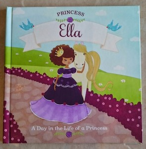 princess book - cover