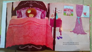 princess book - inside
